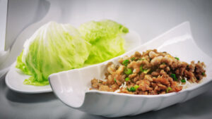 Lettuce Parcel from Chinese restaurant in Gosforth NE3 Newcastle upon Tyne